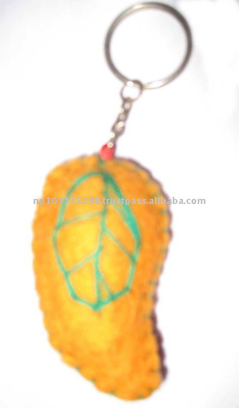 Felt Crochet Key Chain