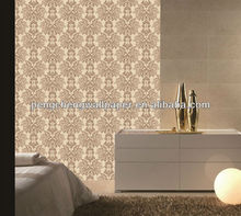 2013 New arrival modern style black and white wallpaper for home decoration