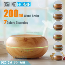 new products 2017 200ml Wood Grain Electric Air Aromatherapy Cool Mist Ultrasonic Humidifier Aroma Essential Oil Diffuser