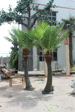 wholesale factory small artificial palm tree&plant decorative plastic tree