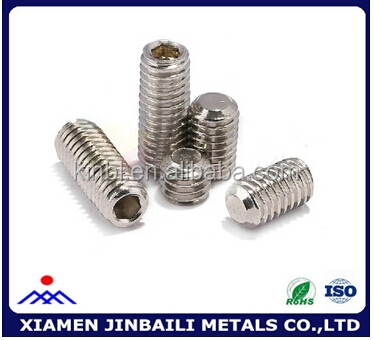 High quality grub screw with low price made by Chinese manufacture