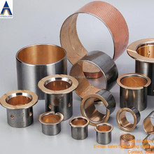 JSB Bimetal material oiless bearing,Steel+bronze bi metal bush,bi-metal bushing