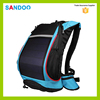 alibaba china high quality portable waterproof men solar charger bag,wholesale blue solar backpack