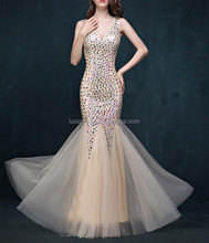 Hot saling plus dress fashionable girls pageant cheap mermaid bridal lace prom dresses
