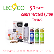 Leco 50 Times Concentrated Grape Juice Beverage Syrup Carbonate Syrup