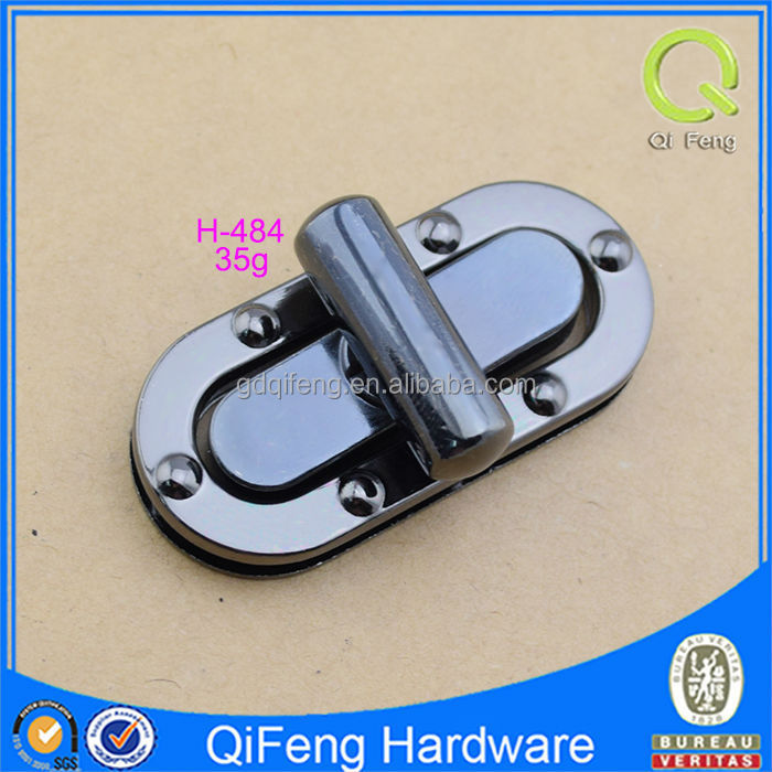 magnet clasp for cosmetic bag twist lock in bag part and bag accessories H-484
