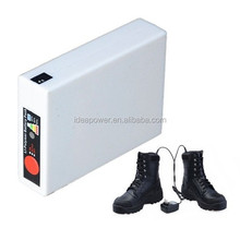 Rechargeable Battery Heated Shoes with LED Display 3.7v 3000mAh CE FCC ROHS