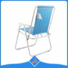 Custom comfortable fold beach bed , outdoor stable camp chair bed