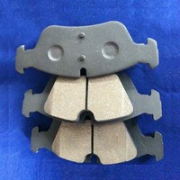 Less-metal Semi-metal Ceramic NAO Material Brake Pads for BMW