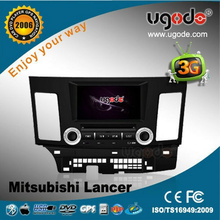 2010-2012 Mitsubishi Lancer Car Audio System 8 inch 2din Car DVD with GPS