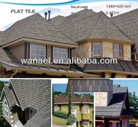 0.4mm Ce Certificate stone coated roof panel/replacement of slate roof tiles,new products on China market