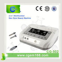 CG-502 2 in 1 ultrasonic sonic facial skin cleaner for sale
