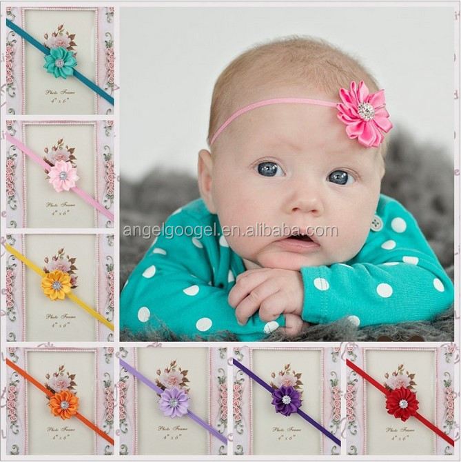European and American kids fashionable latest lace children hair accessories MY-AD0001