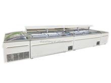 Hot Selling Commecial Supermarket Deep Combined Island Freezer