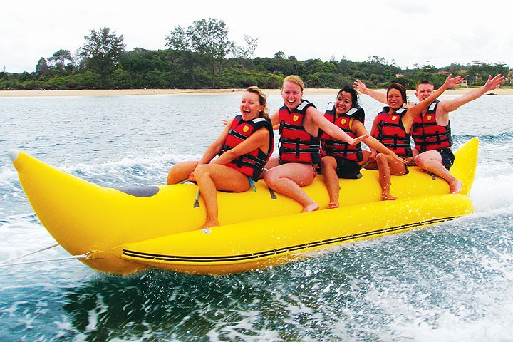 2015 New Water Game - Inflatable Surfing Banana Boat