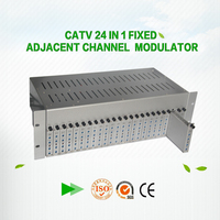 catv analog 24 in 1 Fixed av rf modulator