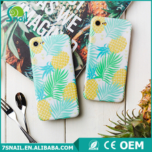 Super cute flower painted design soft TPU cell phone back cover,IMD technology case for iPhone 6 6Plus
