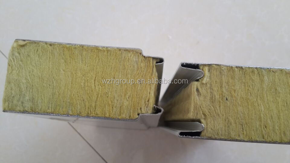 Mineral Wool Waterproof Fireproof Good Quality Z Lock