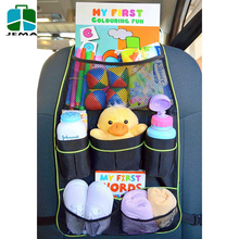 Car Back Seat Storage Protector for Kids Backseat Car Organizer for Family Traveling