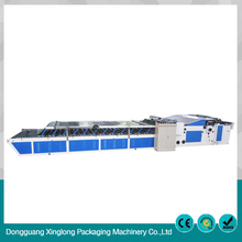 Adsorption semi-auto flute laminating machine