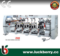 Seven Head Woodworking Drilling Machine for Cabinet