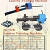 JG 04B Manual Lantern Twisting Machine