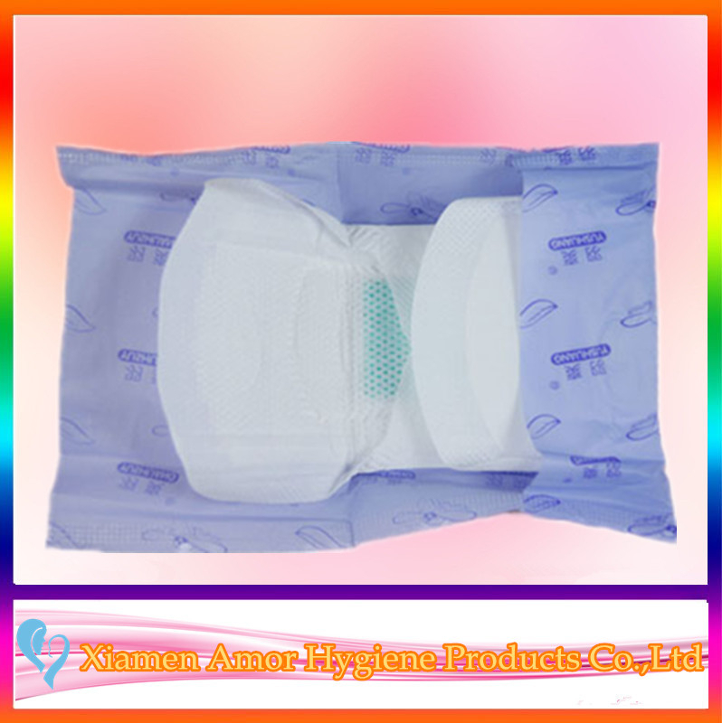 Wholesale green adl color sanitary pad