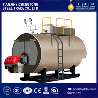 1T/H Steam Capacity Fuel Diesel Oil /Gas Steam Boiler with Italy Baltur Burner
