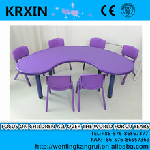 Cheap plastic dining table and chairs little kids table/ kids table and chairs for sale