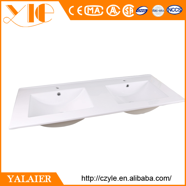 Factory Prices Bathroom Countertops With Built In Lavabo Sinks