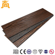 Exterior Cedar Wood Cement Wall Siding House Wall Decoration Cement Lap Siding