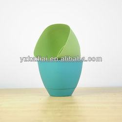 High Impact Mini Plastic Flower Pot container homes