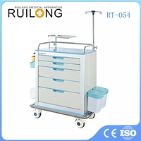 Top Quality Useful Hospital Emergency Medical Surgery Trolley