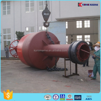 selling marine surface buoys navigation solar light buoys for sale in factory price