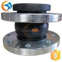 Flanged Single Sphere Rubber Types Of Pipe Joints