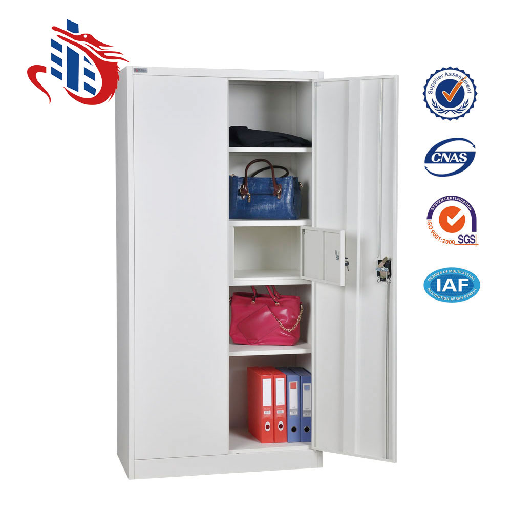 India style double door inside vault designs steel iron godrej almirah wardrobe with price