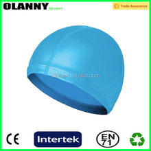 good supplier cheap price brand logo colorful swimming cap