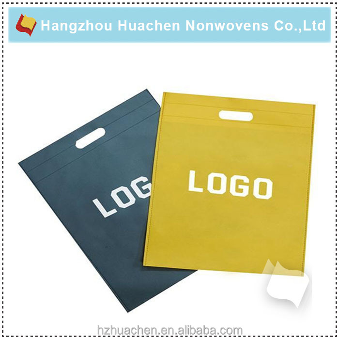 Factory Direct Selling Slogan Non-woven Bag
