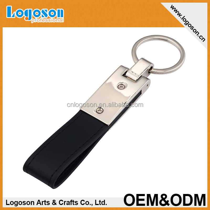 Manufactory wholesales key chains motorcycle leather