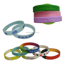 wholesale silicone bracelets wristbands for events custom wristbands
