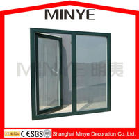 HIGH QUALITY THERMAL BREAK HEAT BREAK ALUMINUM CASEMENT WINDOW BRAZIL STORE WINDOW HOT SALE