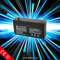 6v 1.2ah gel battery , a lead acid dry charge battery