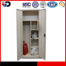 Homeplus Clothes Storage Cabinet 2 door bedroon clothes storage wall-mounted metal armoire steel cabinet office furniture,