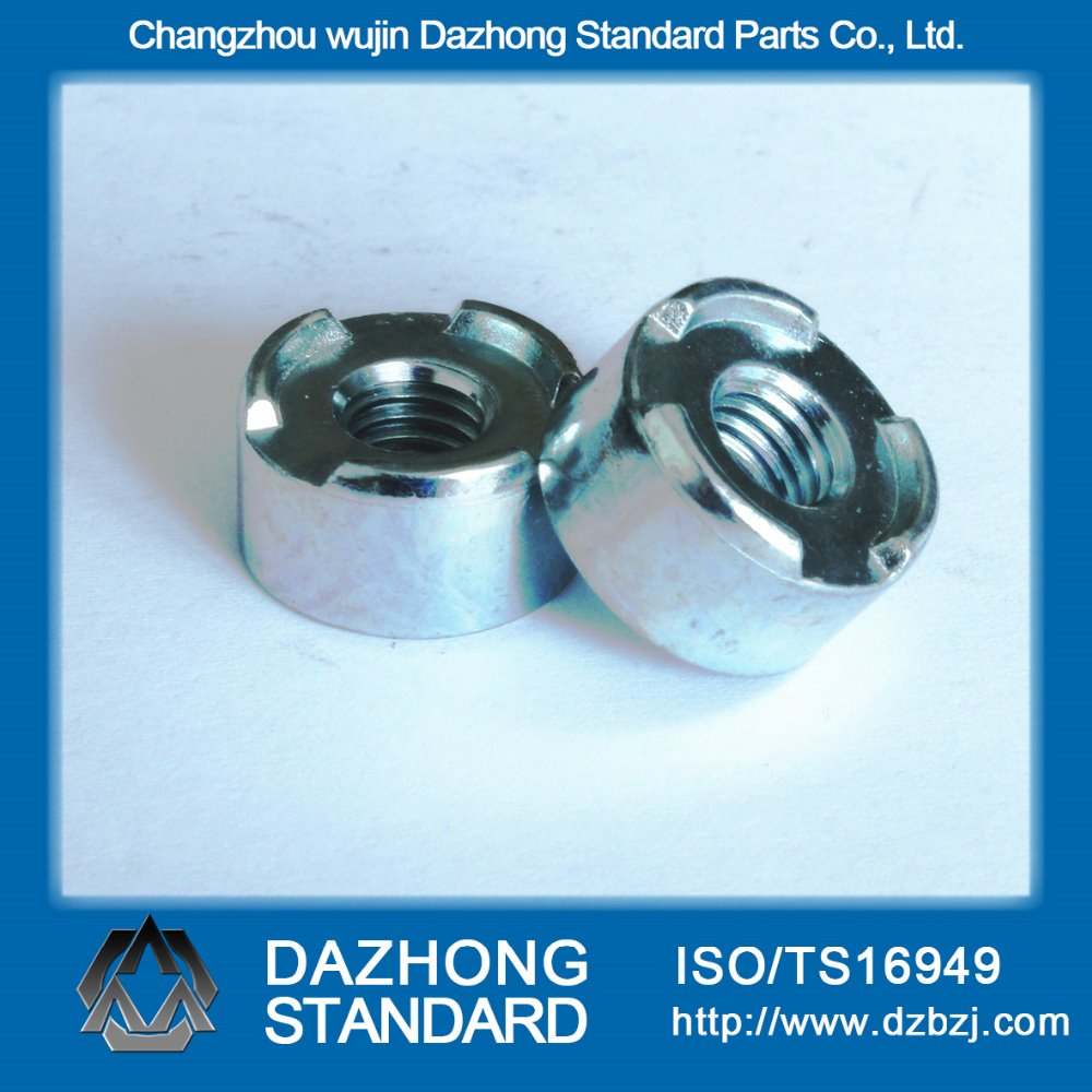 Hot sale automotive industry Carbon Steel round base projection weld nut