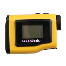 600meter Distance Meter Easy LCD Readout Telescopes Monocular 6X21mm for hunting and golf