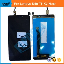 For Lenovo K50-T5 K3 Note LCD Display+Touch Screen Digitizer Assembly LCD Original Replacement Parts
