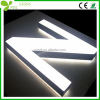GO! Visual appeal indoor led illuminated signs
