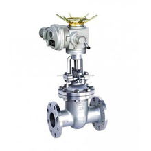Rising stem stainless steel electric gate valve