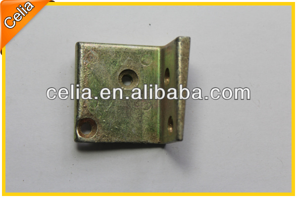 customized and small zinc plated L shape bracket