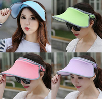 Fashion Face Protection Sun Hat Summer Hats For Women Foldable Anti-UV Wide Women Hat Summer